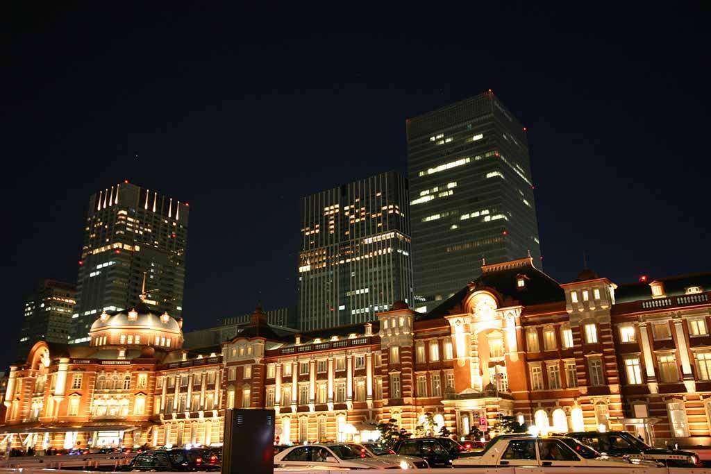 東京駅ライトアップ03